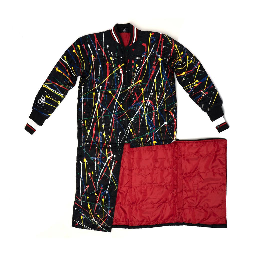 Black Code BDR BLACK Varsity Puffer Coat