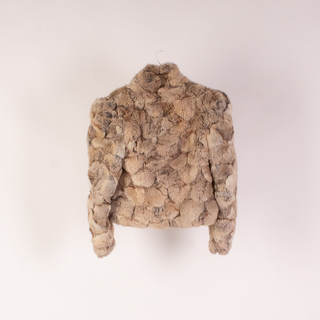 Vintage Ombre Carmel Fur Coat