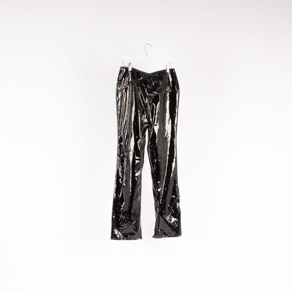 I.AM.GIA Isla Patent Zip-Front Pant