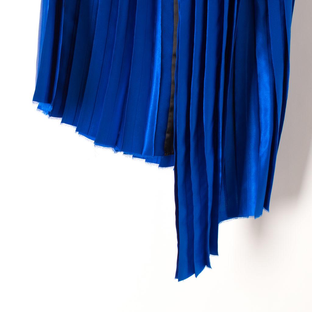 Public School NY Kaleb Suchi Silk Pleated Skirt