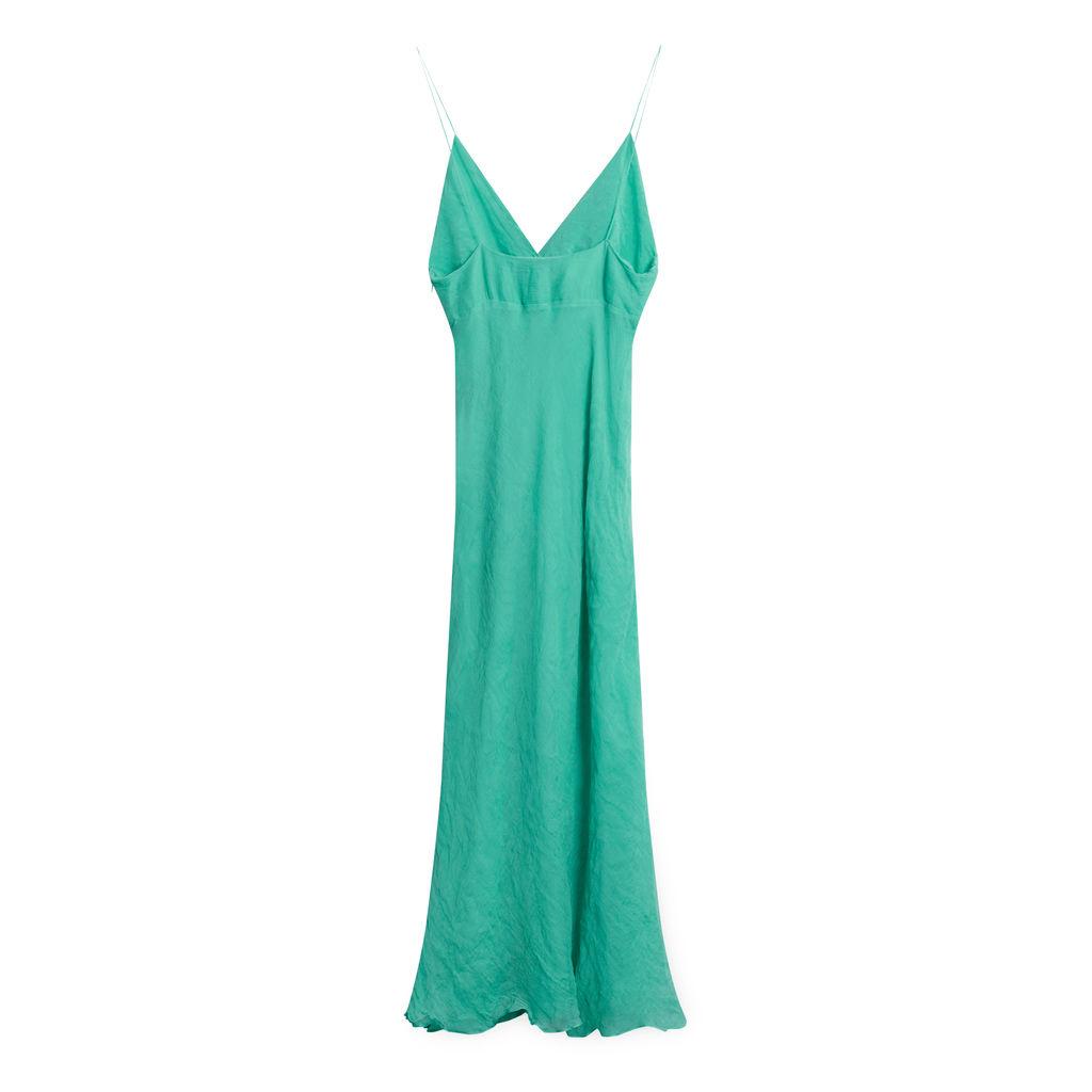 Vintage Catherine Malandrino Turquoise Dress