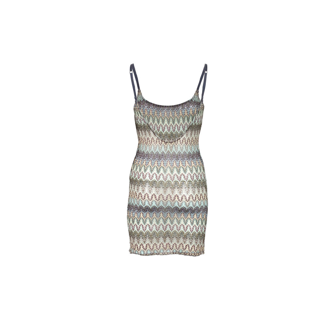 Intimately Free People Textured Knit Slip Dress