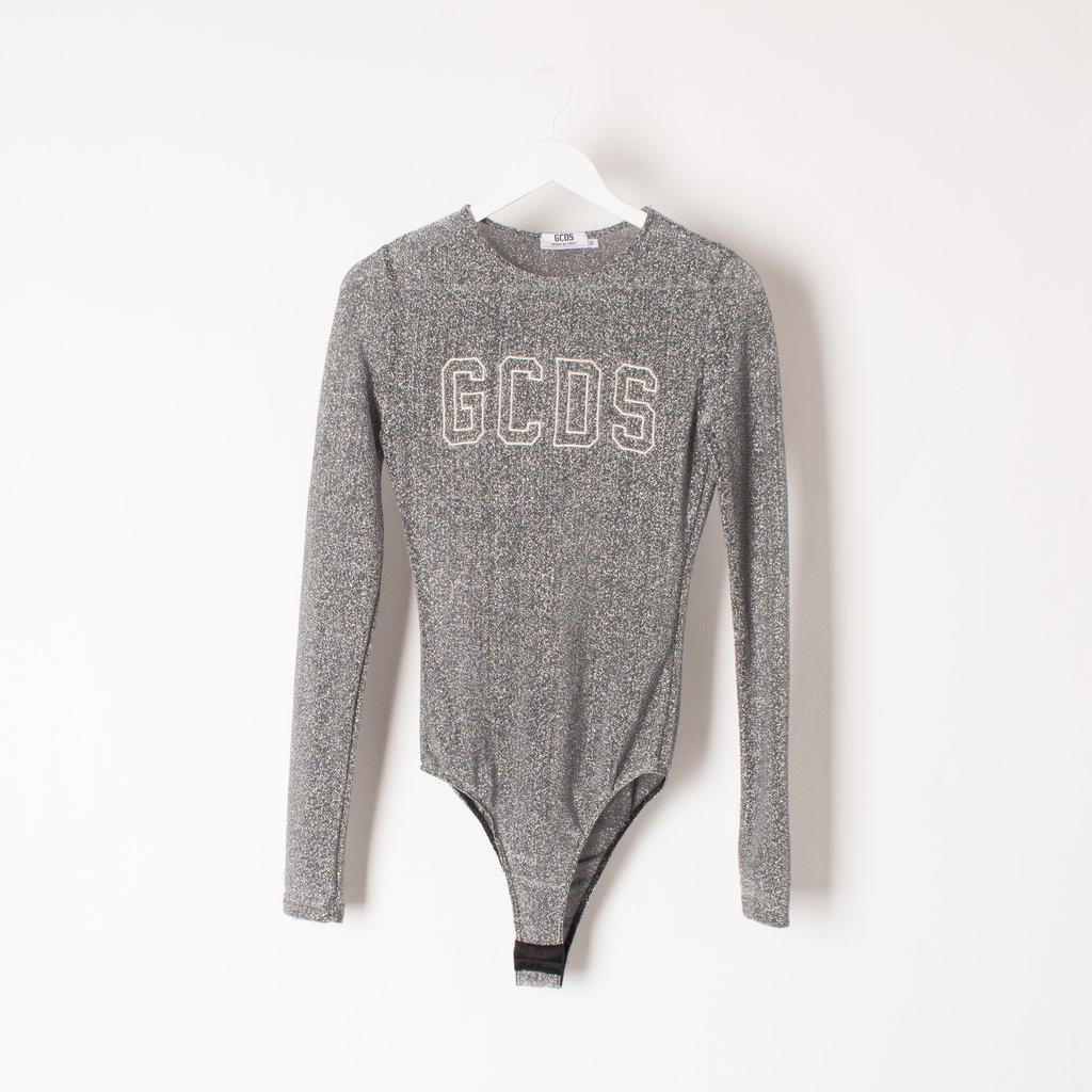GCDS Lurex Bodysuit