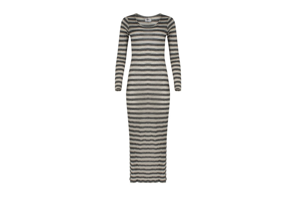 Nightcap X Carisa Rene Stripe Maxi Dress