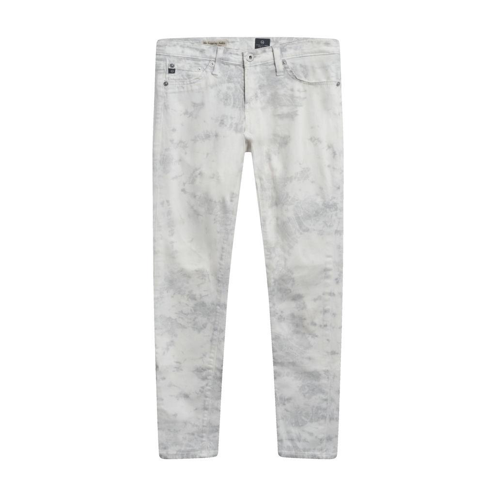 AG the Legging Ankle Shibori Dyed Skinny Jean