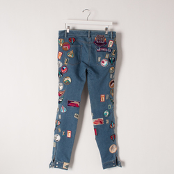 3.1 Phillip Lim Loop Terry Patch Jean curated by Melina Matsoukas