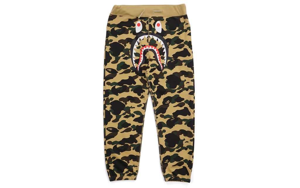 BAPE 1st Camo Gore Windstopper Shark Sweatpants