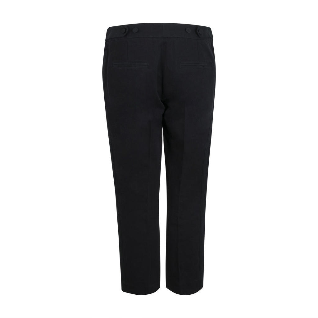 3.1 Phillip Lim Pleated Side-Stripe Trousers