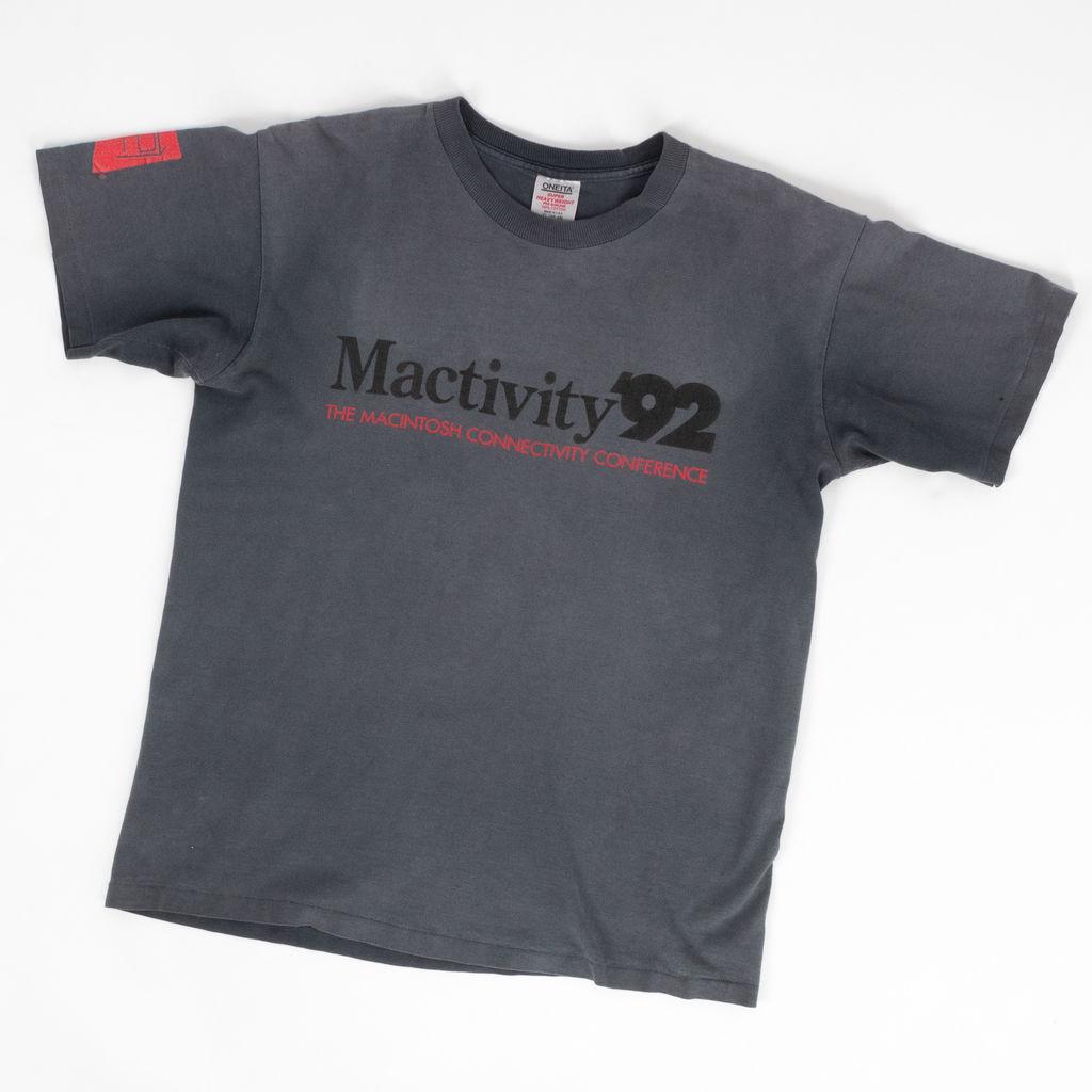 Vintage 1992 Apple Mactivity T-Shirt