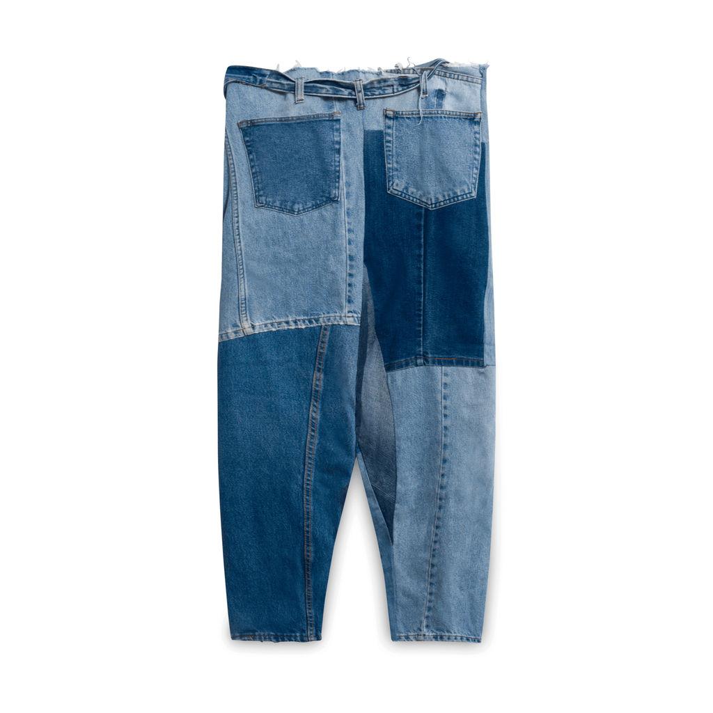 Vintage Silk Denim Jeans