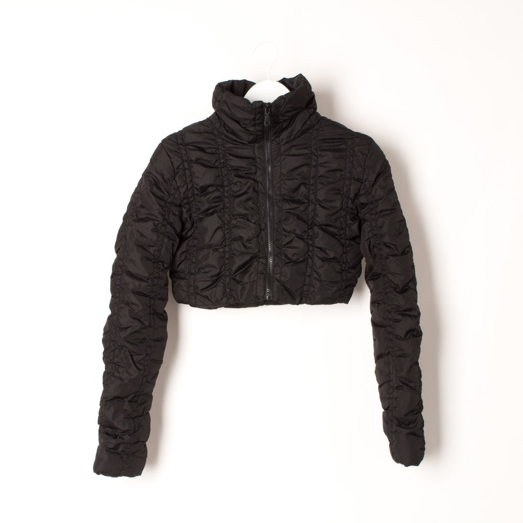 Marcelle Renee Cropped Down Jacket
