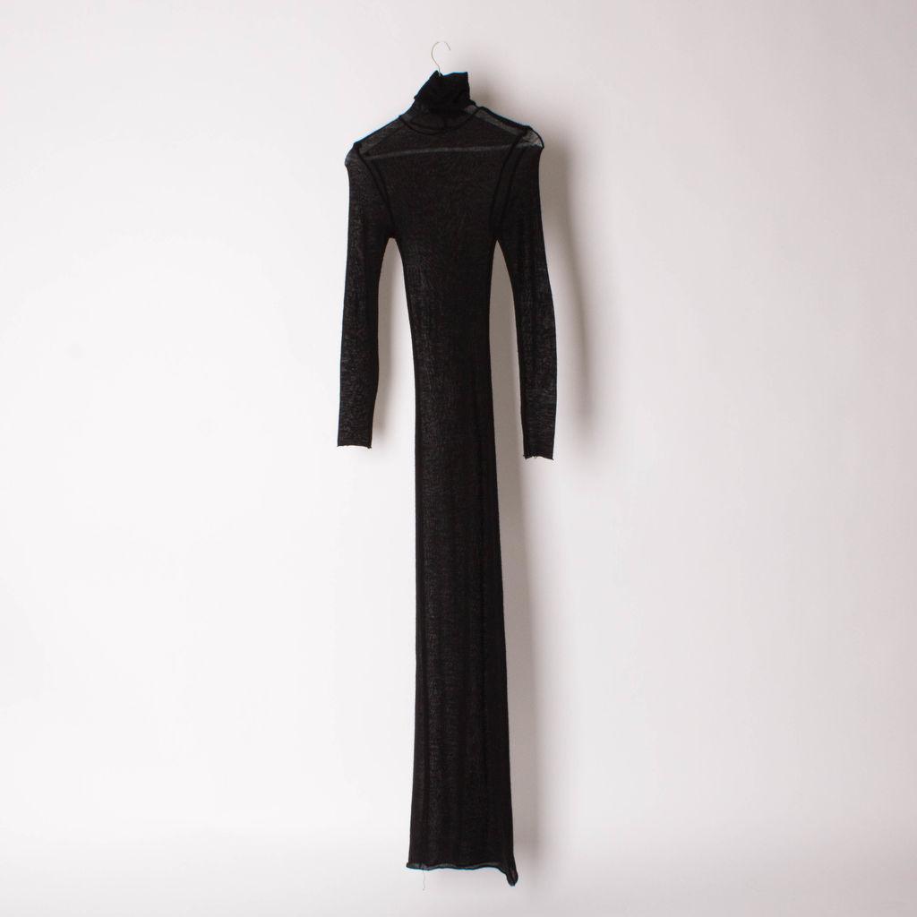 The Elder Statesman Silk And Cashmere Dress