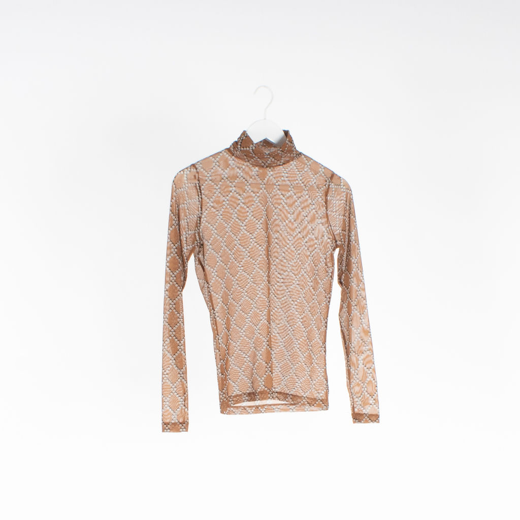 Dries Van Noten Hind Sheer Turtleneck