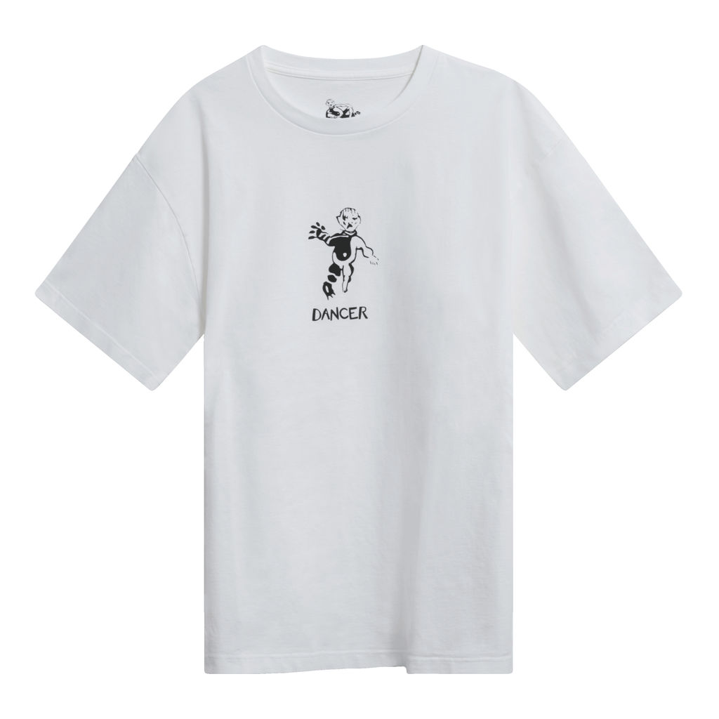 Dancer OG Logo T-Shirt in White
