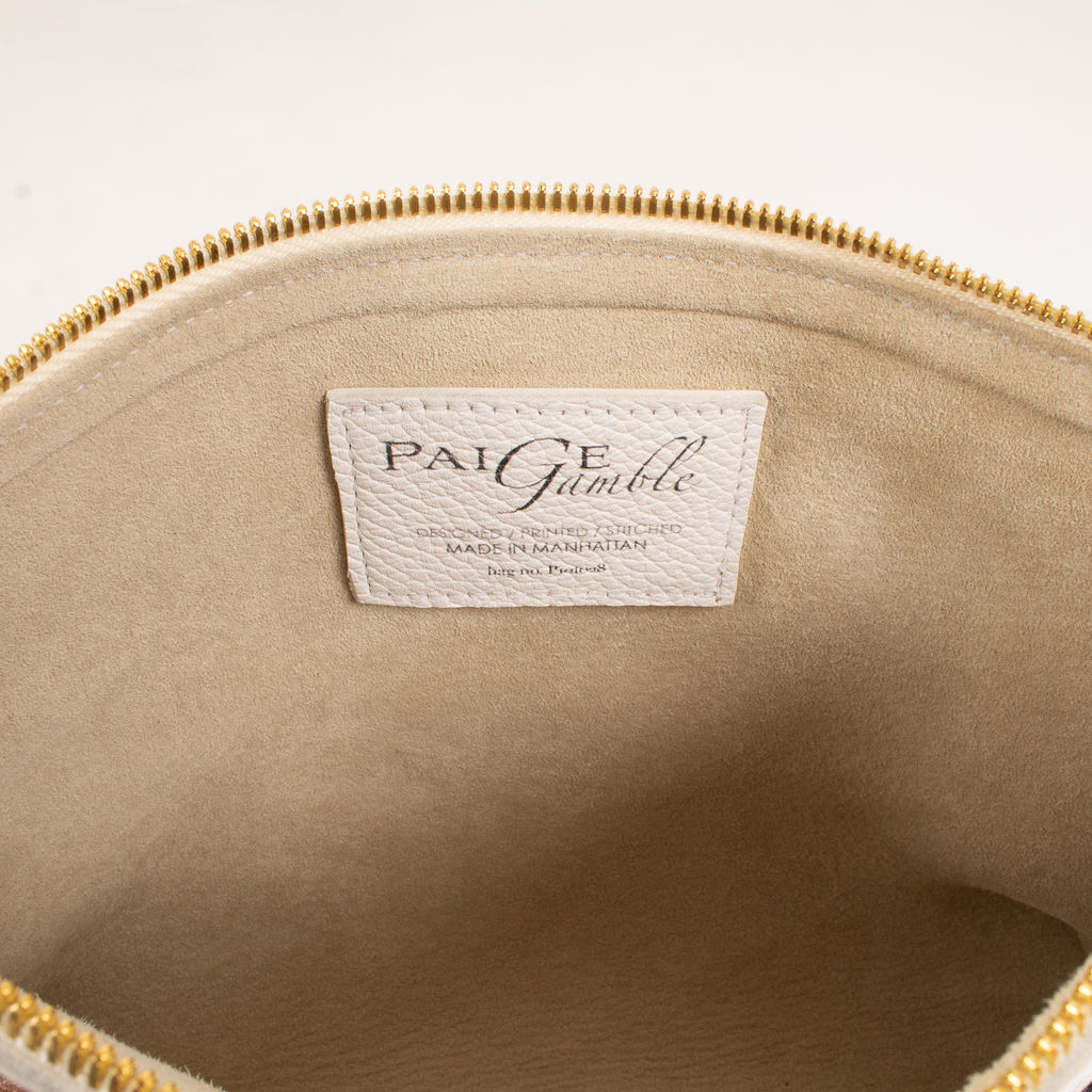 Paige Gamble Hand Painted Soft Clutch