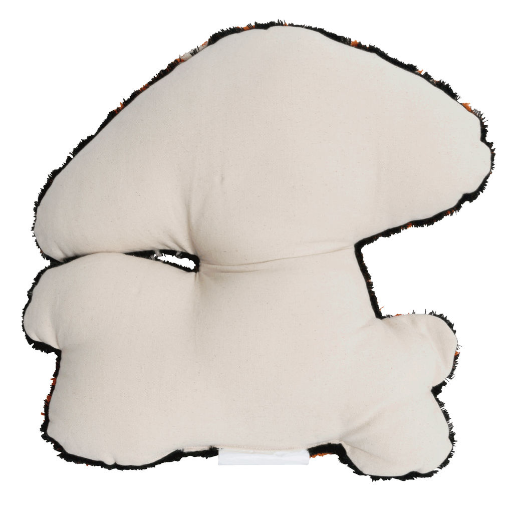 Tufted Mushroom Throw Pillow