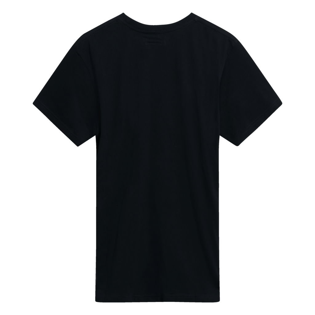 Benjamin.Edgar 'Eponymous' T-Shirt in Black/Yellow