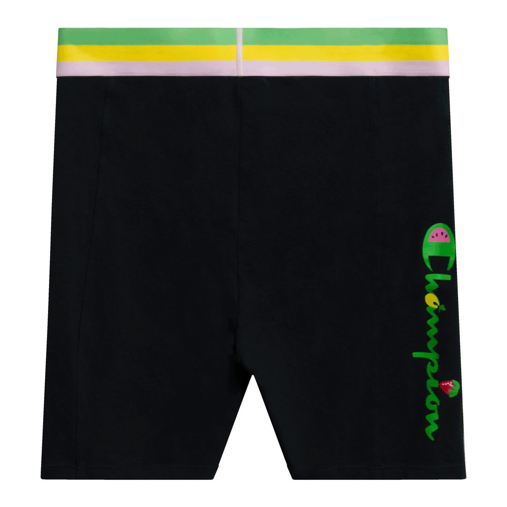 Champion Striped Biker Shorts
