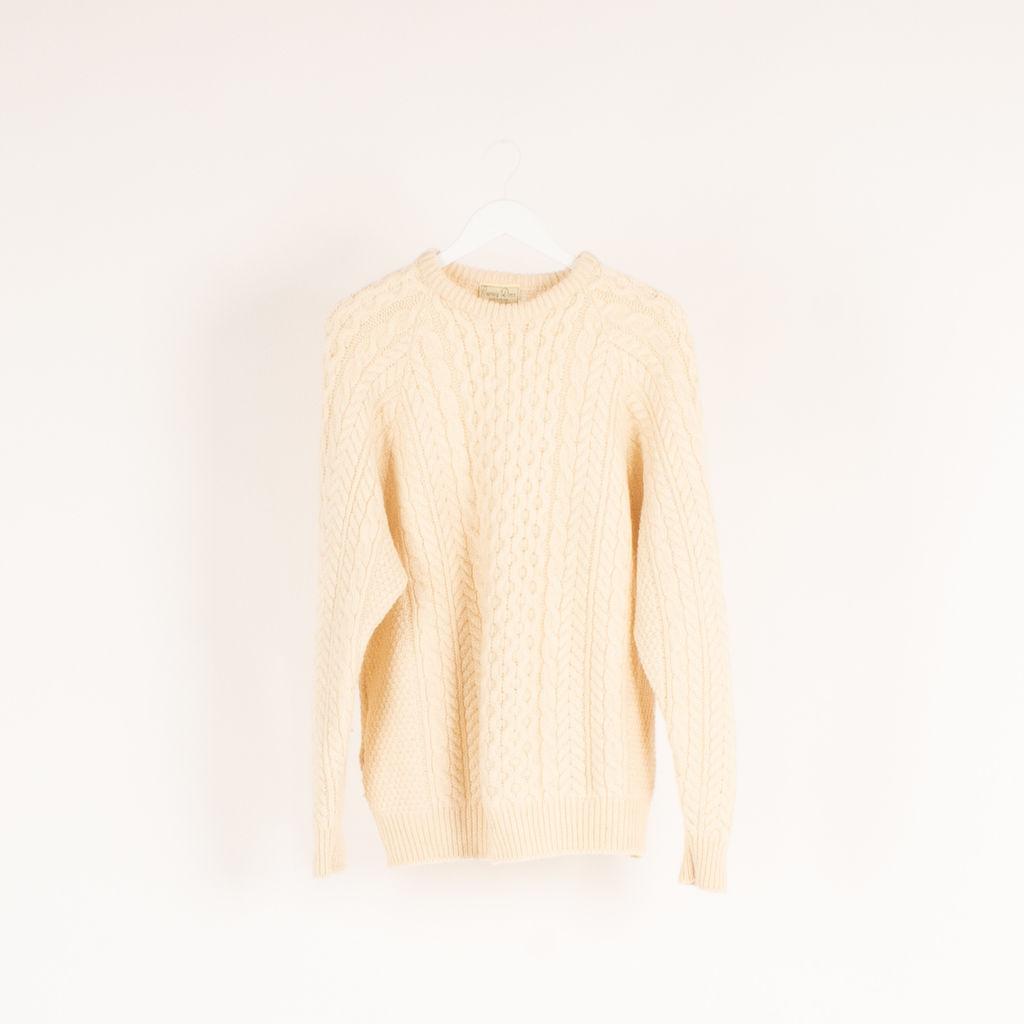 Carrig Donn Wool Fisherman Sweater