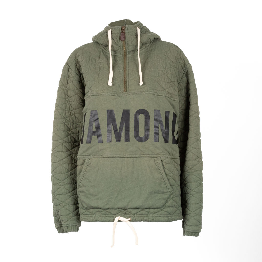 Diamond Supply Co. Quilted Quarter Zip Hoodie