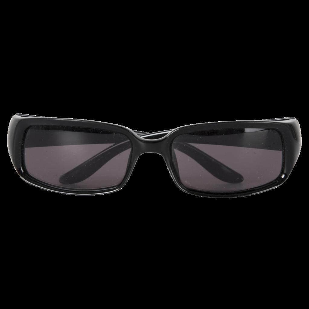 GUCCI Rectangular Black Sunglasses