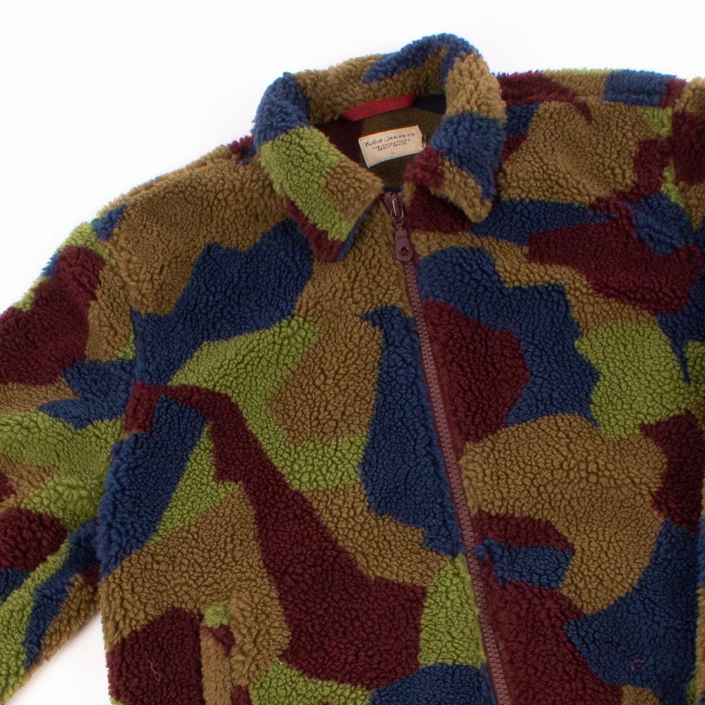 Nudie Jeans Torkel Camo Fleece Jacket