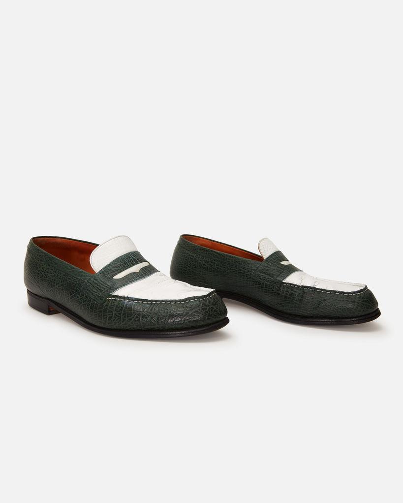 Custom Alligator Skin JM Weston 180 Loafers