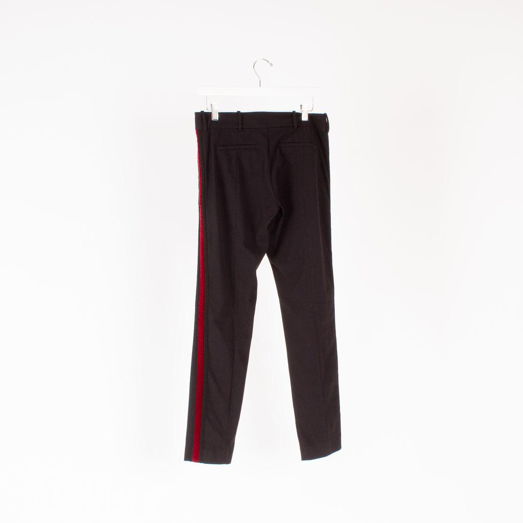 The Kooples Velvet Trim Trousers