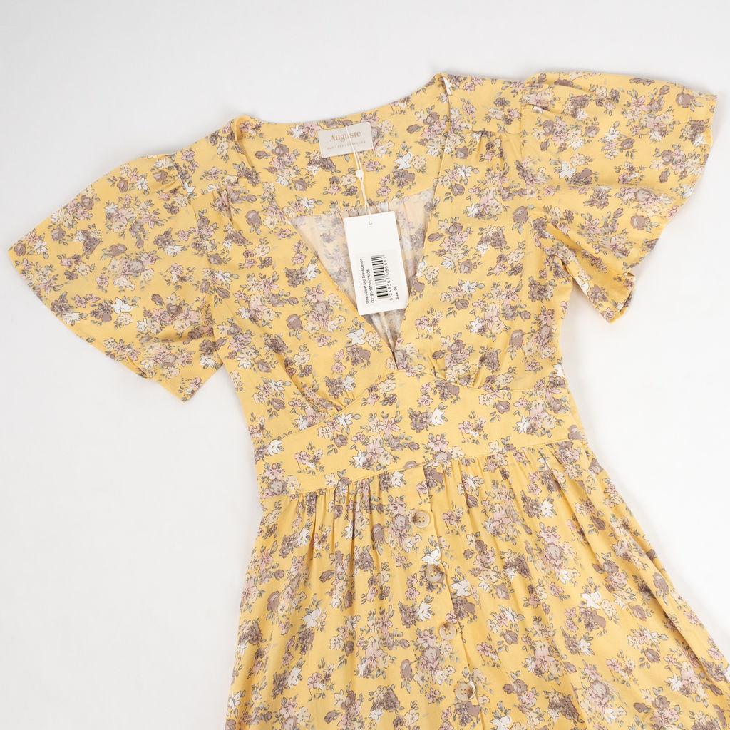 Auguste The Label Olson Violet Midi Dress