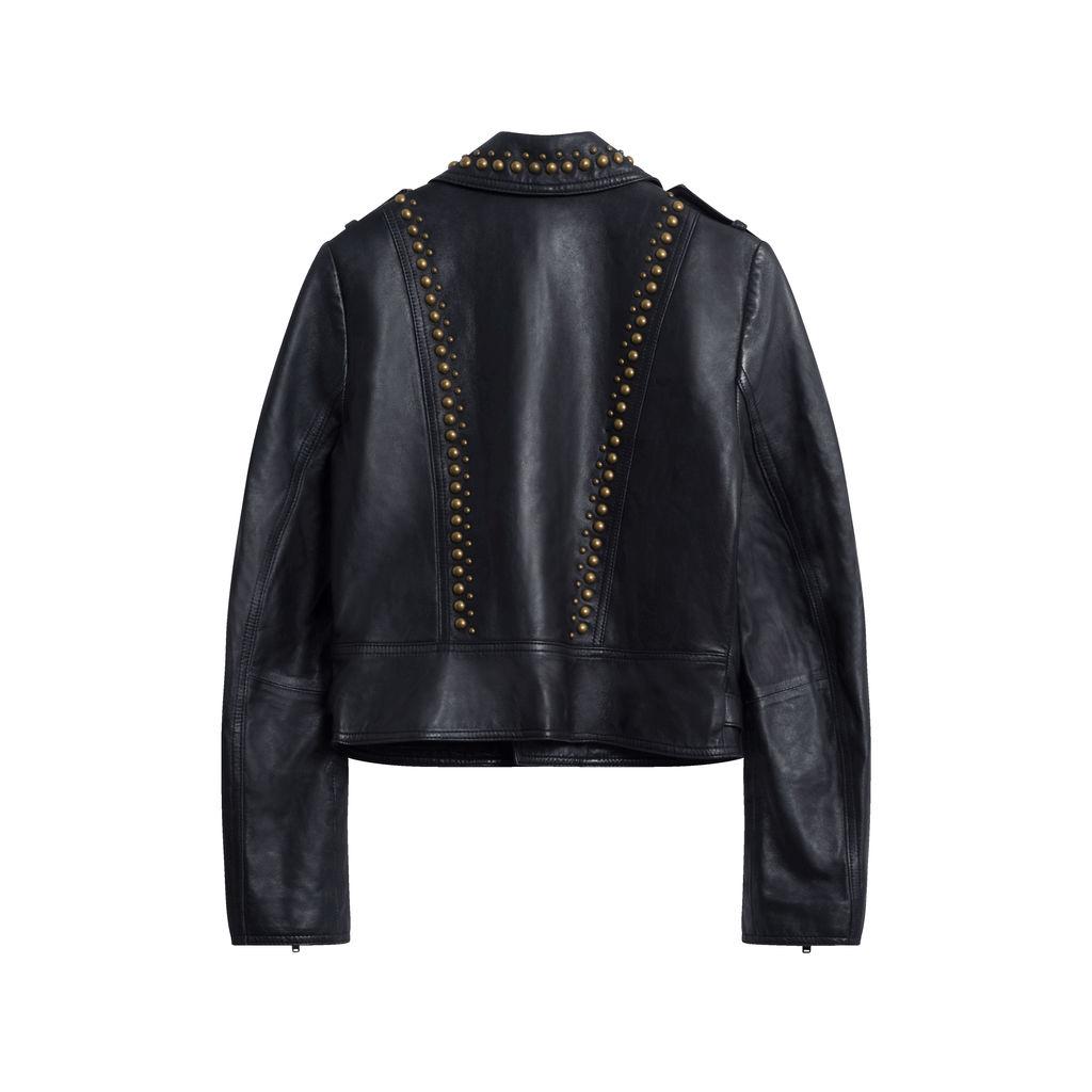 Ramy Brook Yoma Studded Jacket - Black