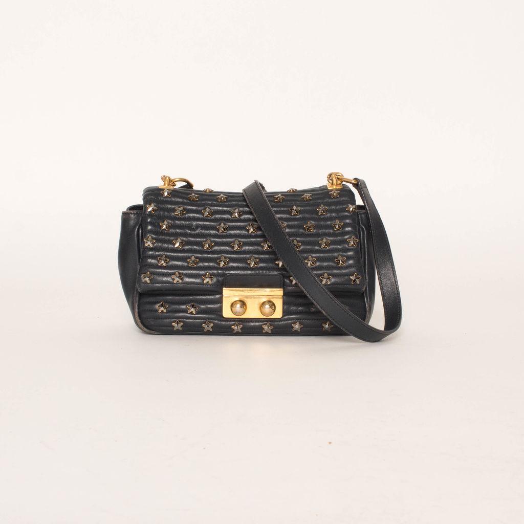 Sonia Rykiel Star Studded Shoulder Bag