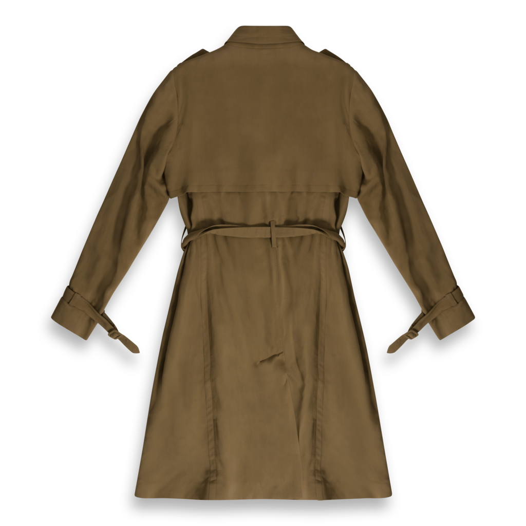 Massimo Dutti Wrap Trench Coat