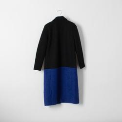 Shakuhachi Colorblocked Oversized Wool Car Coat curated by Sophia Amoruso