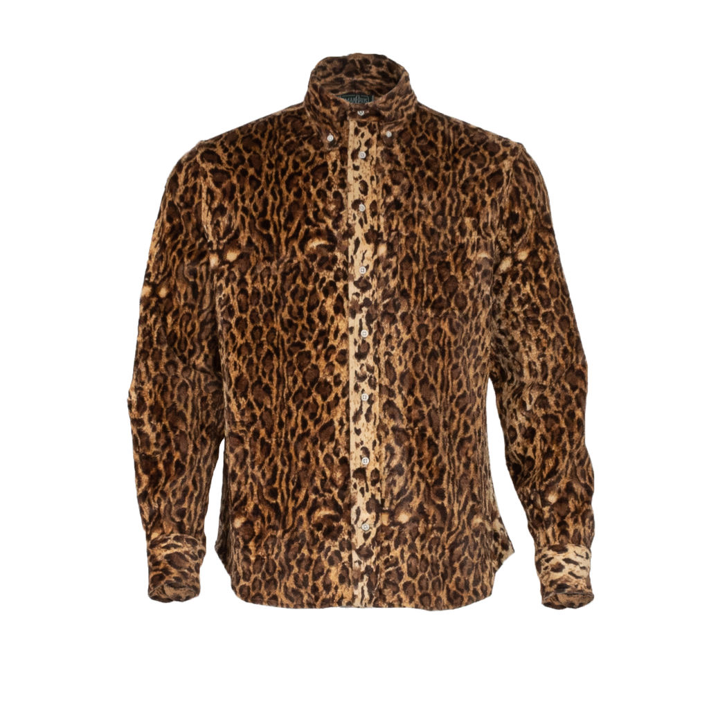 Gitman Brothers Vintage Leopard Button Down Shirt
