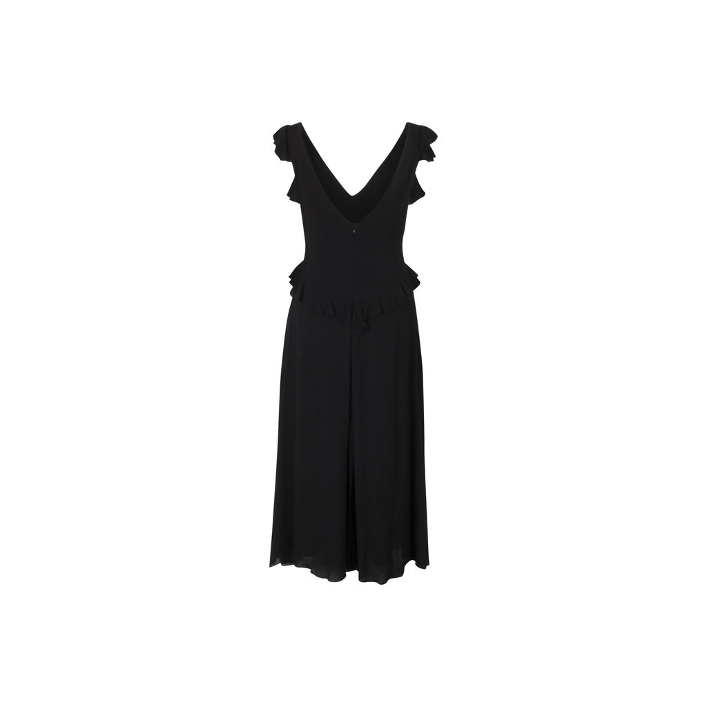 Rachel Comey Black Sleeveless Dress