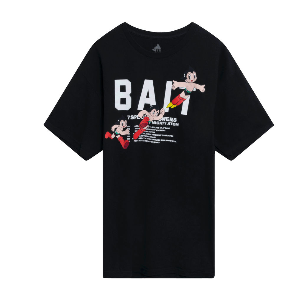 Bait Astro Boy Tee - Black
