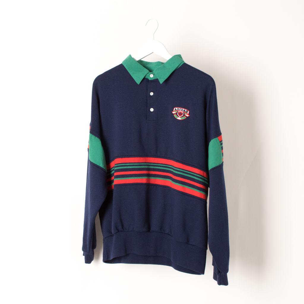 Vintage Adidas Collared Crewneck