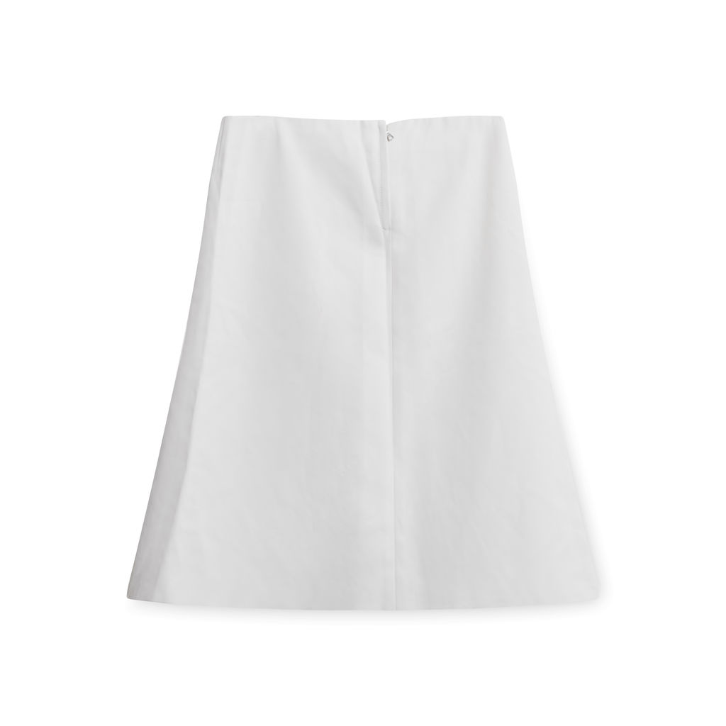 Marc Jacobs White Denim Skirt