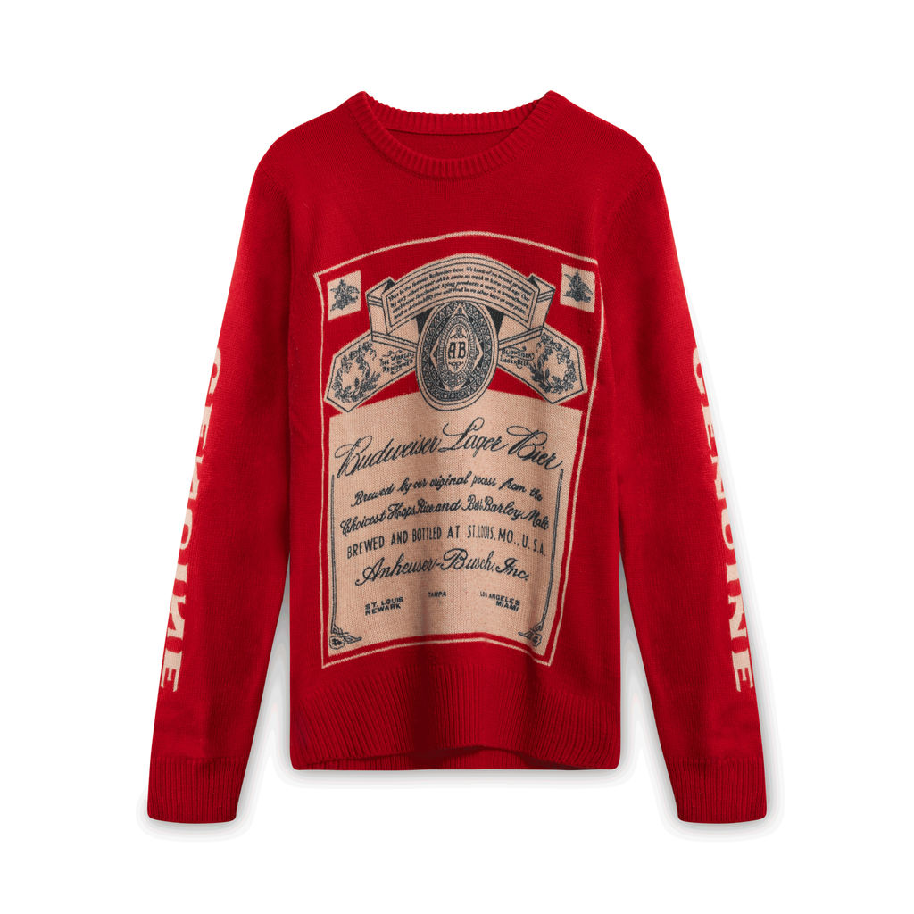 Budweiser Lancaster Wool Blend Sweater