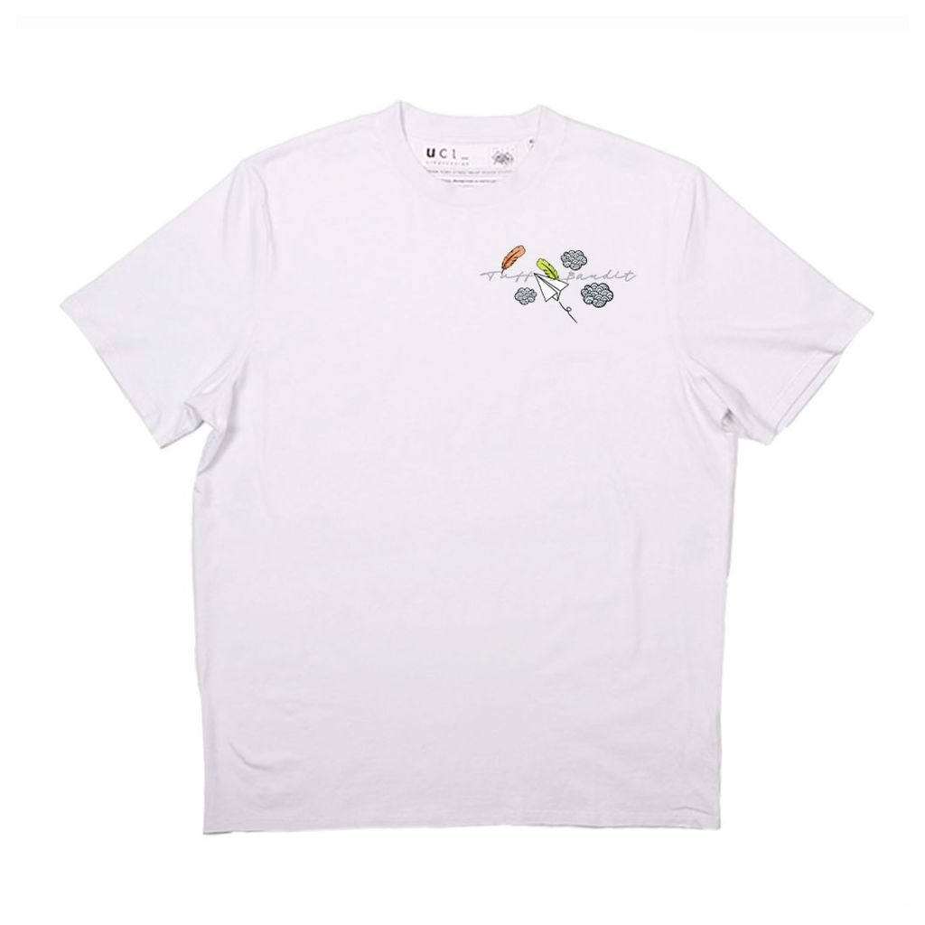 Tuff Bandit White Land With Grace T-Shirt