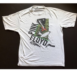 Vintage 1987 Pink Floyd Tour Concert Rock Shirt  curated by Scott Hopkins