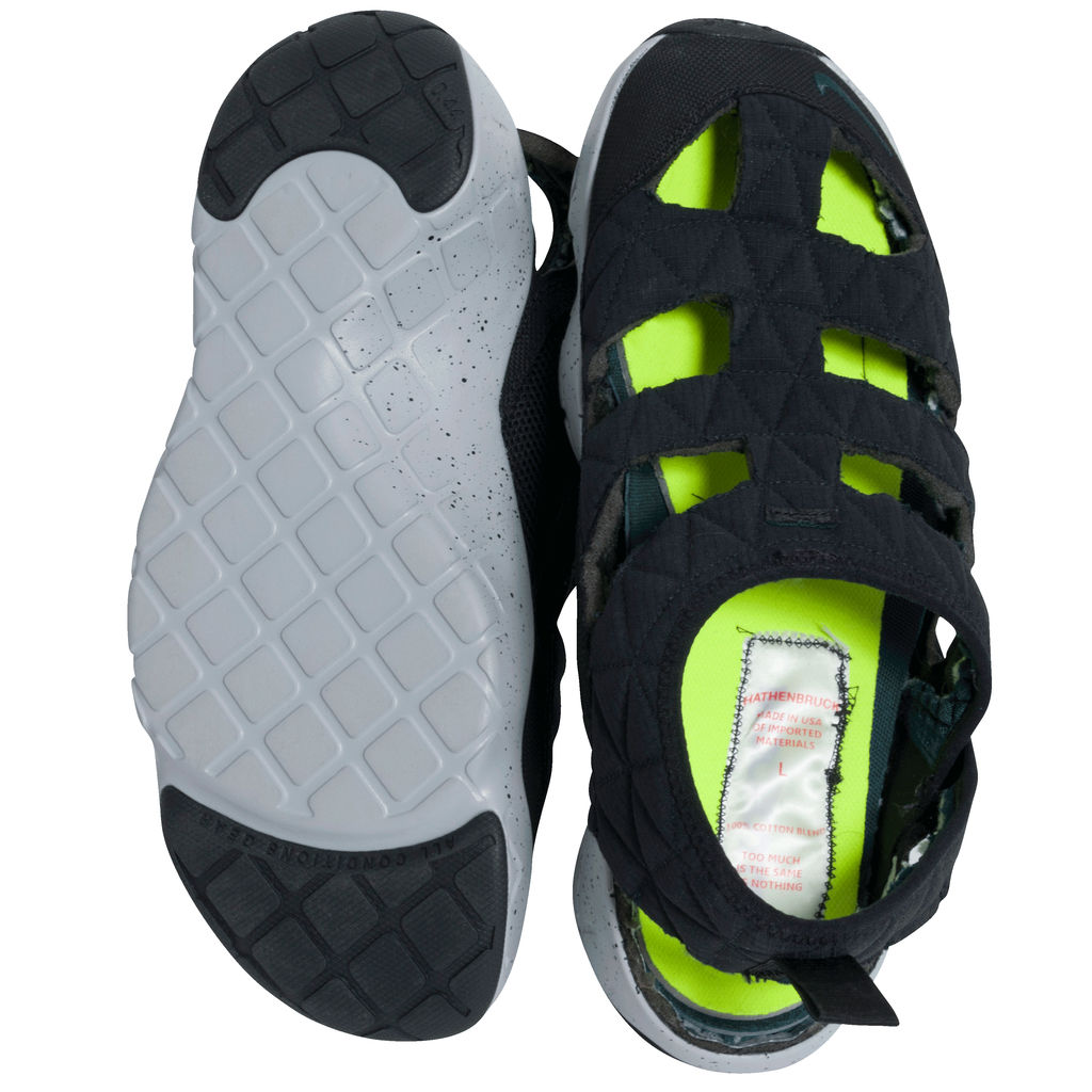 Reworked Nike ACG Men's Mt. Fuji Sandal in Black/Turquoise/Grey
