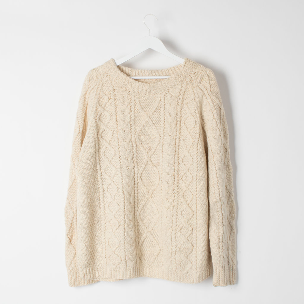 Vintage Fisherman Sweater curated by Sophia Amoruso