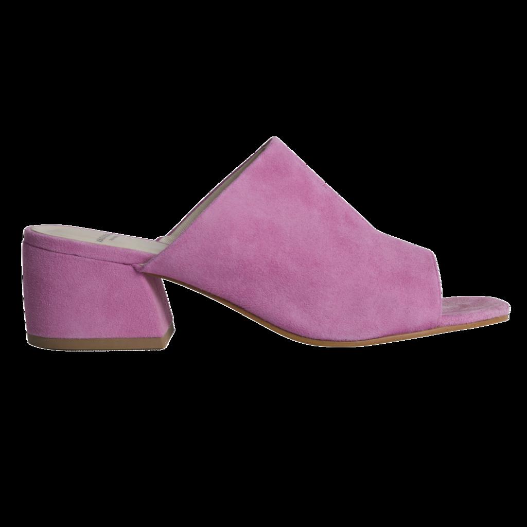 Vagabond Saide Pink Goat Suede Sandals