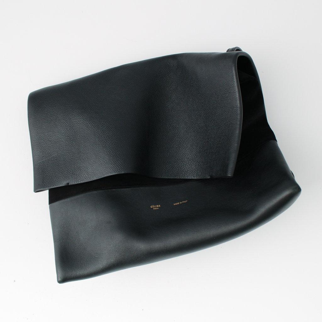 Celine All Soft Leather Shoulder Bag