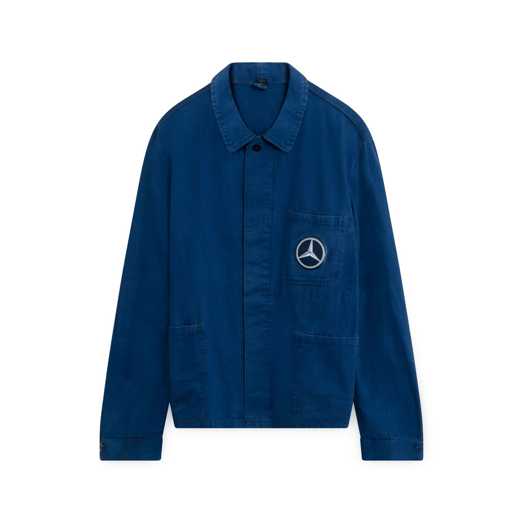 Vintage Mercedes Work Jacket (Navy)