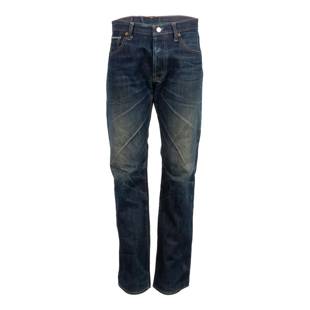 Vintage Levis's Dark Wash 501 Selvedge Jeans