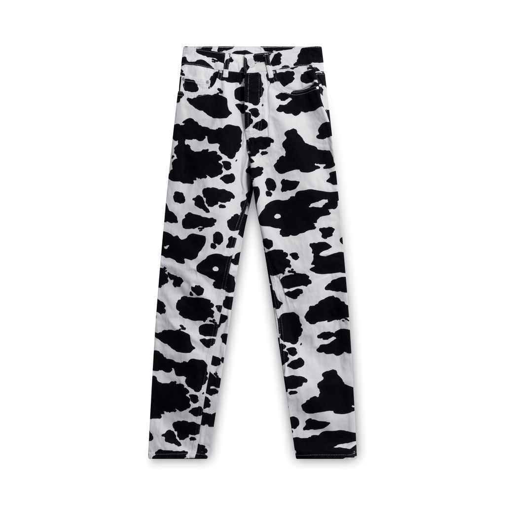 ASOS Cow Moo Print Straight Pants
