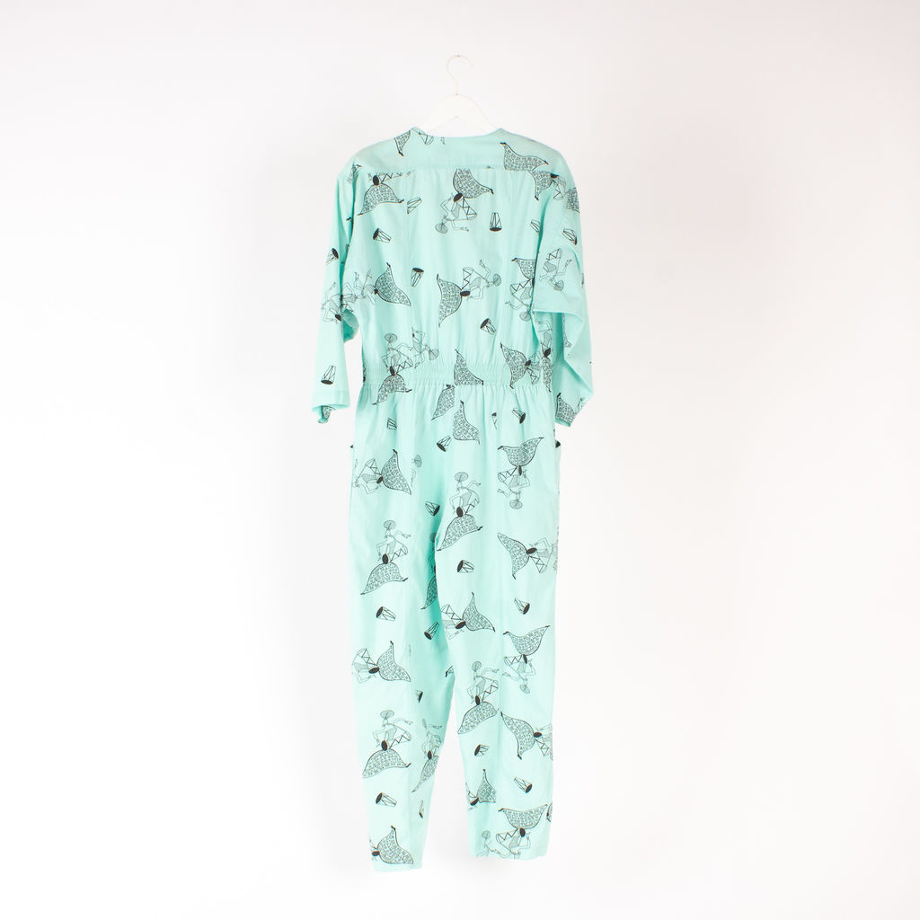 Diane Von Furstenberg All-Over Printed Jumpsuit
