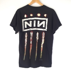 """Vintage 1994 Nine Inch Nails """"The Downward Spiral"""" Tour Tee Shirt curated by Scott Hopkins"""